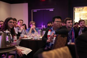 Students await the winning news at the Canadian Engineering Competition